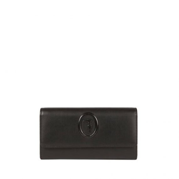 Smooth-faux-leather-Lisbona-continental-purse_TRUSSARDI-JEANS_50_01_8051932333362_F