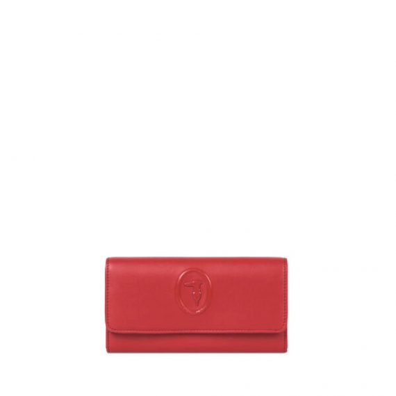 Smooth-faux-leather-Lisbona-continental-purse_TRUSSARDI-JEANS_50_01_8051932426712_F