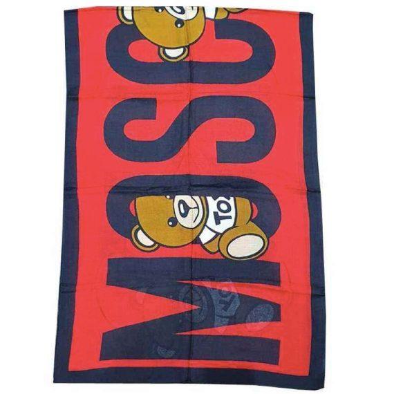 moschino-sciarpa-foulard-con-orsetto-teddy-toy-rosso-5345
